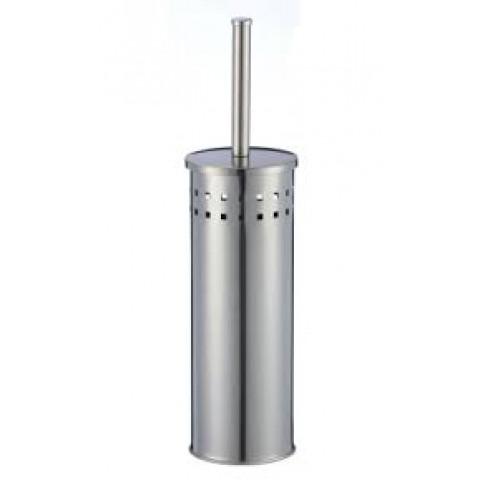 Ершик. нерж.сталь  напольный  S-00902 хром 10*10*42 см купить за 794 руб. в Симферополе
