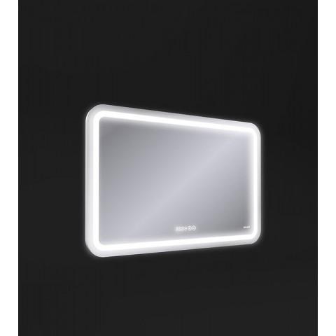 DESIGN PRO Зеркало с подсветкой антизапотевание 80*55,смена цвета холод.те,часы Сорт1 купить за 11 582 руб. в Симферополе