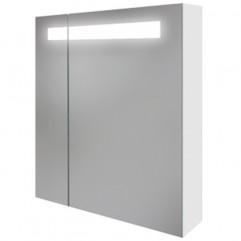 MELAR 70 Зеркало-шкафчик: с подсветкой, белый,сорт 1 (SP-LS-MEL70-Os)
