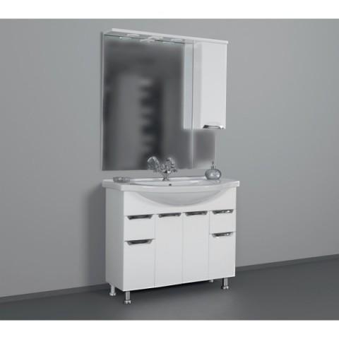ЕВА 101 БЕЛЫЙ зеркало ЛЕВОЕ (В) купить за 8 197 руб. в Симферополе