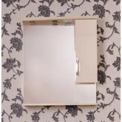 ЕВА 60 БЕЛЫЙ (шкаф короткий) Зеркало с довотчиком ПРАВОЕ (В)