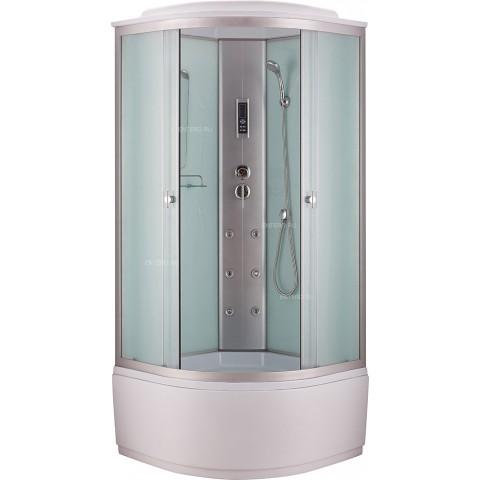 Душ. каб. NG-3319-14 (1000х1000х2150) высокий поддон стекло МАТОВОЕ купить за 26 675 руб. в Симферополе