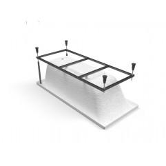 LORENA 160 Рама д/ванны: в комплекте со сборочным пакетом (K-RW-LORENA*160n)