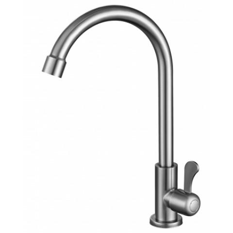 .SUS   269   FMARK FS12210  одна вода с высоким гусаком НЕРЖ. СТАЛЬ (50) купить за 500 руб. в Симферополе